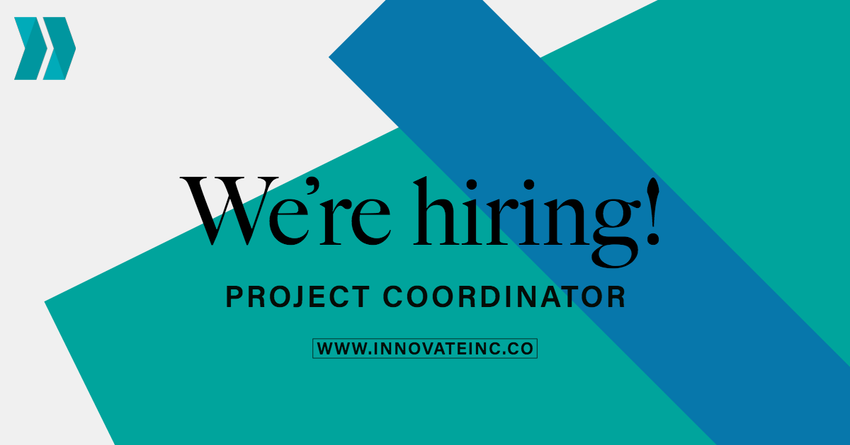 Innovate Inclusion is Hiring a Project Coordinator