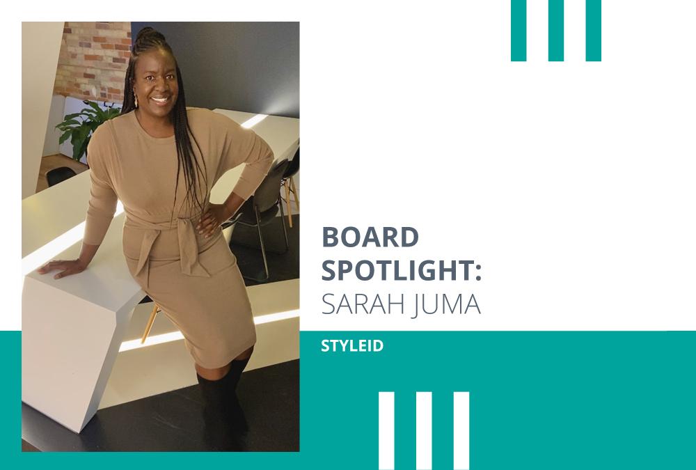 Sarah Juma: Founder & Board Member Spotlight