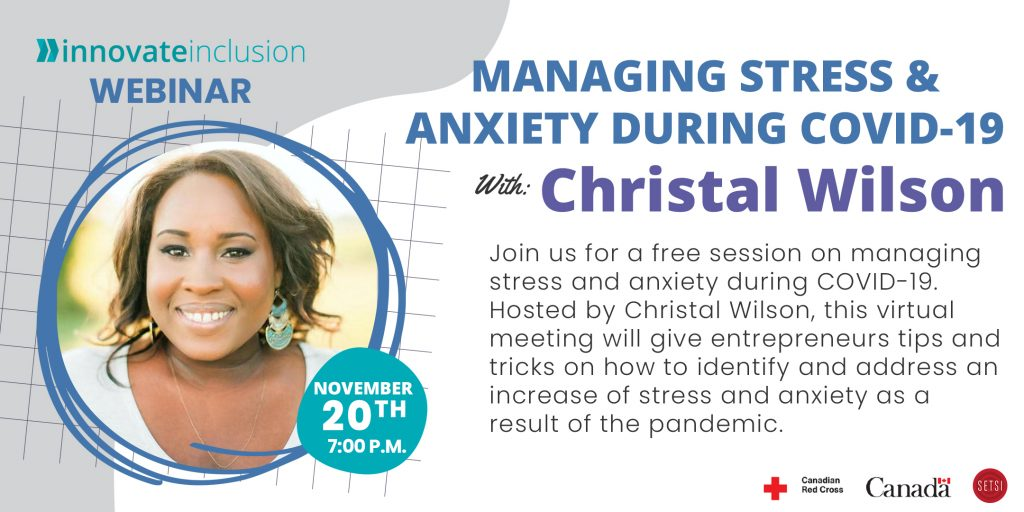 Managing Stress and Anxiety, Christal Wilson
