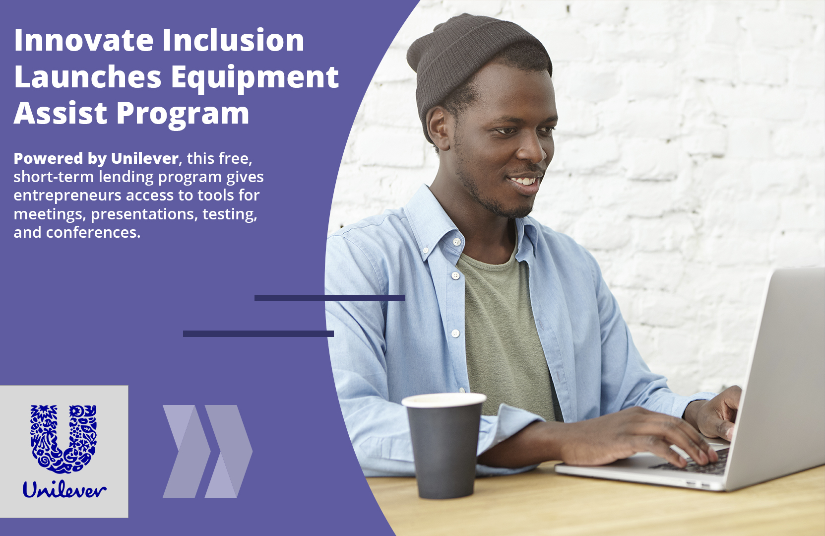 Innovate Inclusion Launches Equipment Assist Sponsored by Unilever